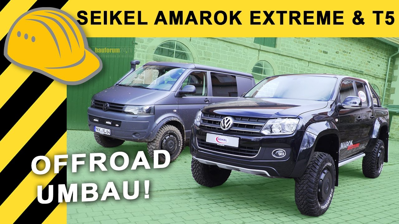 vw amarok tuning umbau by seikel extreme volkswagen. Black Bedroom Furniture Sets. Home Design Ideas