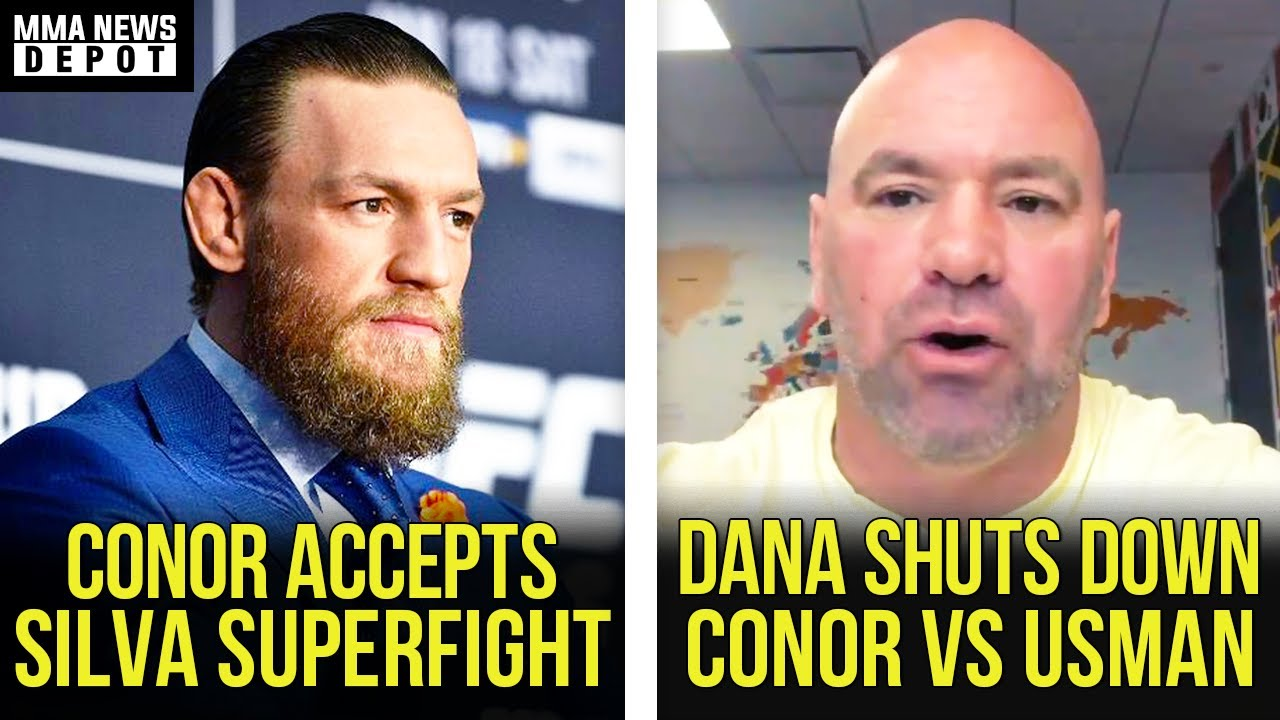 Conor McGregor accepts super fight with Anderson Silva