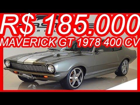 PASTORE R$ 185.000 Ford Maverick GT 1978 Cinza Eleanor 302 aro 17 MT4 RWD 5.0 V8 400 cv #FORD