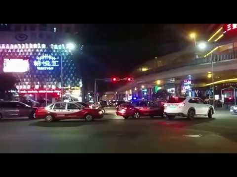 Shenzhen night Street 2017