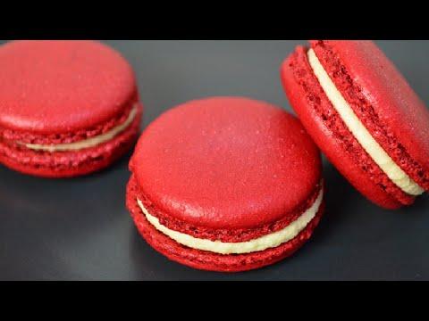 Red Velvet Macarons Recipe