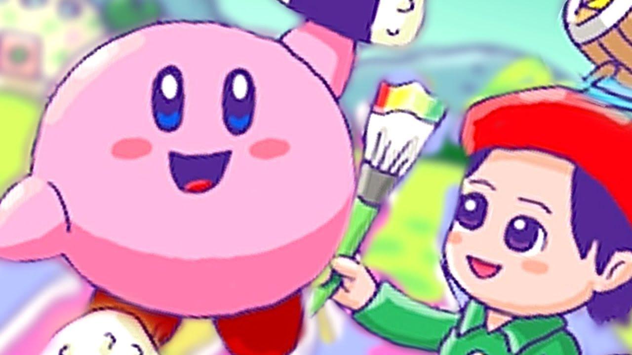 Kirby Star Allies All Special Artwork Unlocked 100% Complete + Daroach Dark Meta knight & Adeleine