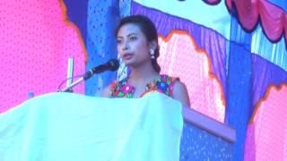 Barsha Lekhi Speech in Eco Expo