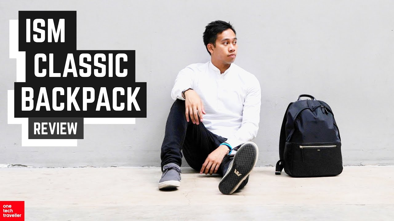 0dadb3a6f9317 ISM Classic Backpack Review  Fashionista from San Francisco! - YouTube
