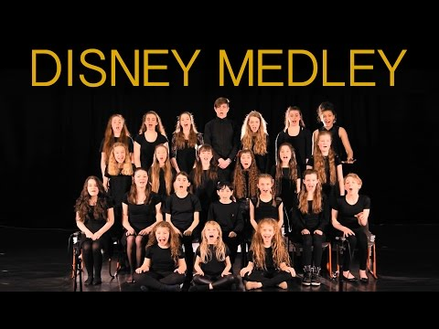 Live DISNEY Medley, by fantastic young singers.