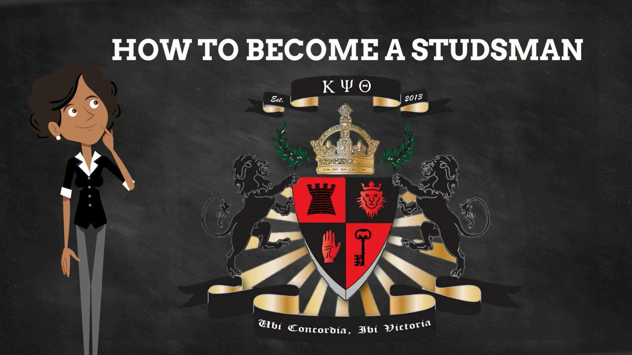 Kappa Psi Theta Fraternity: How to Become a Studsman