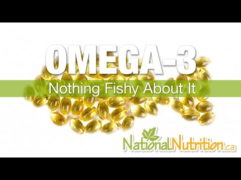 Omega-3 - Nothing Fishy About It