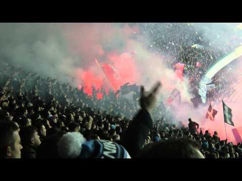 Napoli-Roma 3-0 12-02-2014 Gol Callejon Live in HD dalla Curva B