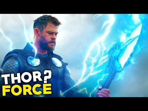 What is THOR FORCE in Avengers 4 Endgame Trailer 2 ??(தமிழ்)