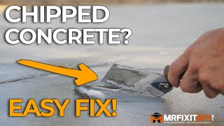 How to Fix a Chip in Concrete | A DIY Guide
