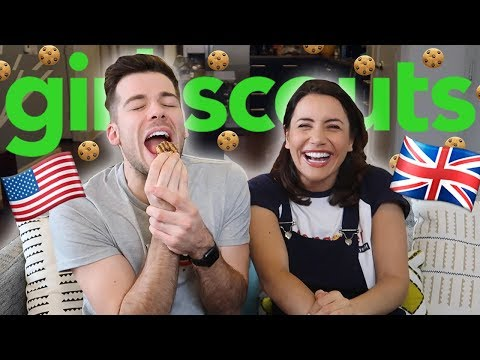 British Try Girl Scout Cookies | Texas Series