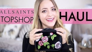 Topshop & All Saints HAUL | Fleur De Force