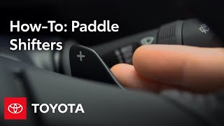 2014 Corolla How-To: Paddle Shifters | Toyota