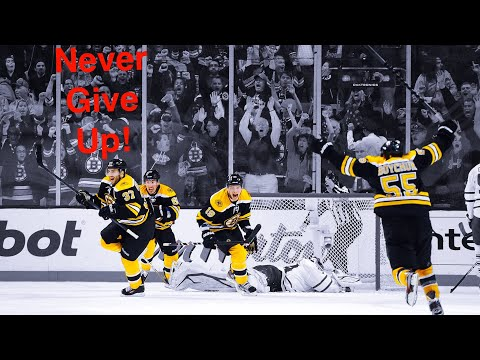 Boston Bruins | Best Comeback In Playoffs History | HD