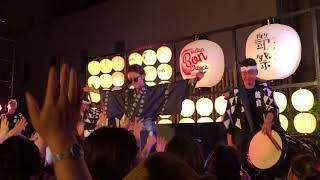 続・押韻見聞録 -未踏- Hilcrhyme feat.鼓童 @新宿伊勢丹 #BONDANCE 20170709