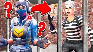 SCAPPA DALLA PRIGIONE!! - FORTNITE *GUARDIE E LADRI*
