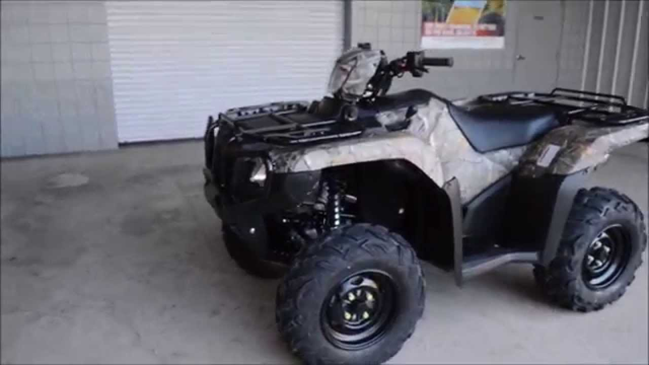 2015 honda rubicon 500 camo dct eps for sale chattanooga tn ga al rh youtube com 2007 honda rubicon service manual 2007 Honda Rubicon ATV