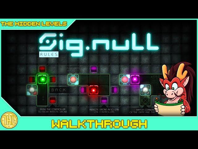 Sig.NULL Achievement Walkthrough (Xbox)
