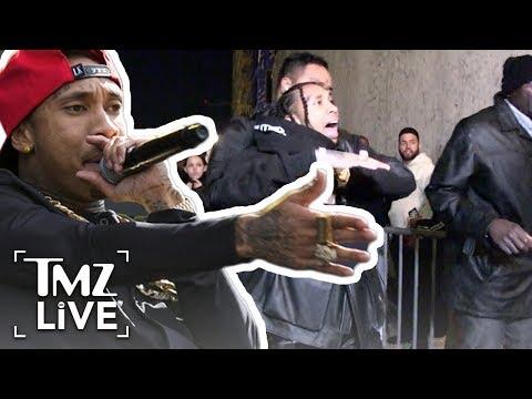 Tyga: What Started The Nightclub Brawl | TMZ Live