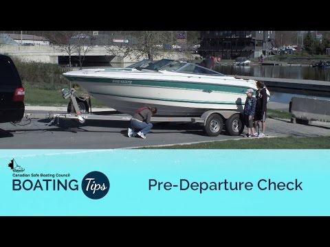 Pre Departure Check
