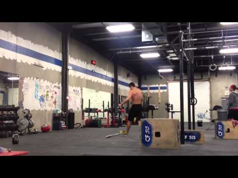 """CrossFit 515 - """"Filthy Fifty"""" in 12:56 (Bobby Noyce)"""