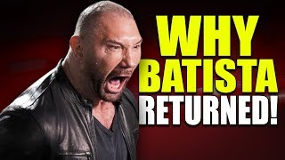 Real Reasons Why Batista Returned to WWE! (Monday Night Raw 25 February 2019)