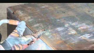 Plate Steel Metal Fabrication-D.I.Y. Mig Welding-Getting The Prefect Weld!