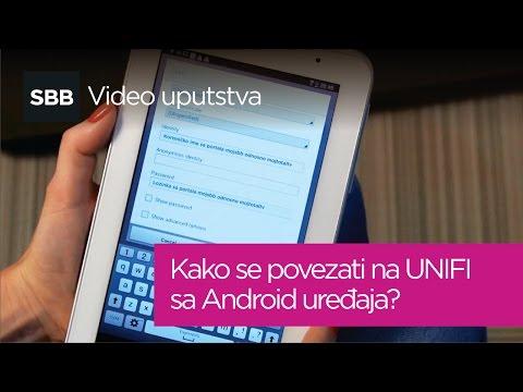Kako se povezati na UNIFI sa Android uređaja?