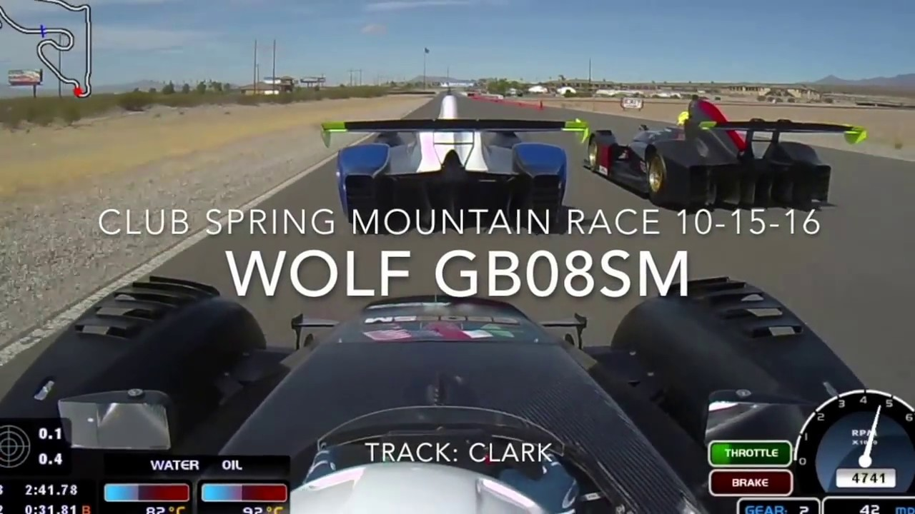 wolf racing gb08sm at spring mountain motor resort and country club