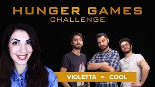 HUNGER GAMES #Movie Challenge - Violetta VS Cool and the Game
