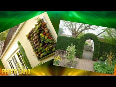 Вертикальные клумбы || PHOTO LAND (сад, цветы, клумбы, клумбы фото, клумбы своими руками)
