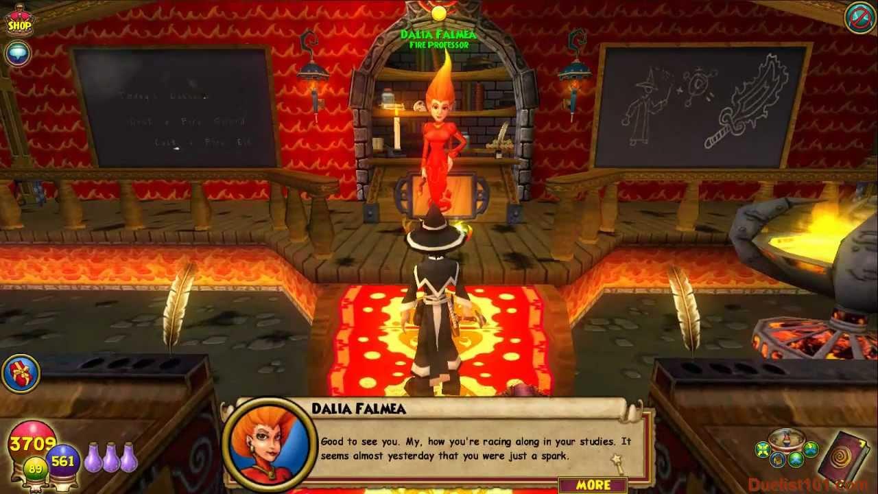 Wizard101 Sun Serpent Spell Quest Video Fire School Level 88 Youtube