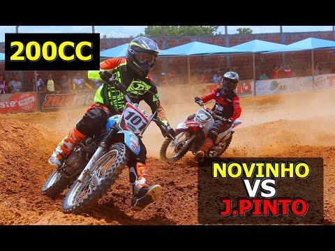 200CC 5º MOTOCROSS DE APODI/RN DUELO ENTRE PINTO E NOVINHO VOADOR