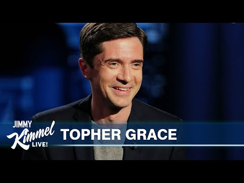 Topher Grace on Seeing Jimmy at Matt Damon's House & New ABC Show Home Economics