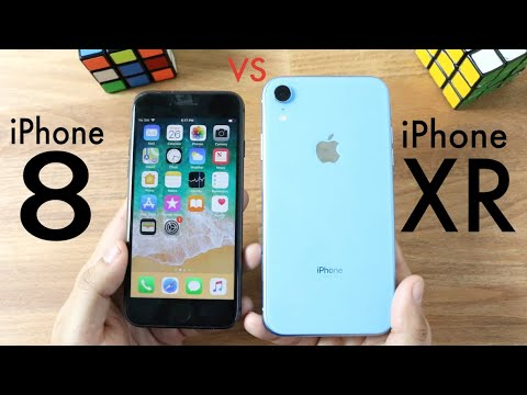 iphone 8 vs iphone xr photos