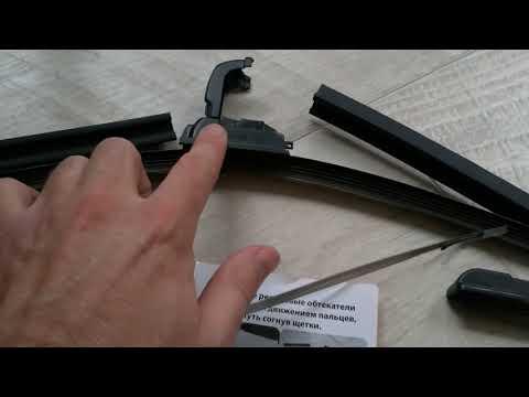Щетки стеклоочистителя с подогревом. Монтаж и установка на Дастер