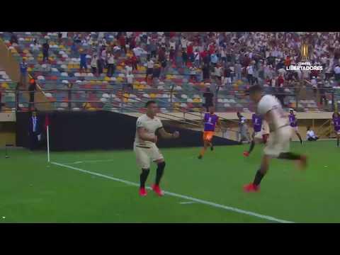 Gol de Jonathan DOS SANTOS | Universitario vs. Cerro Porteño [1-1] | CONMEBOL Libertadores 2020