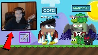 Donating DUCT-TAPE to Growtopia Streamers! *BACKFIRES*