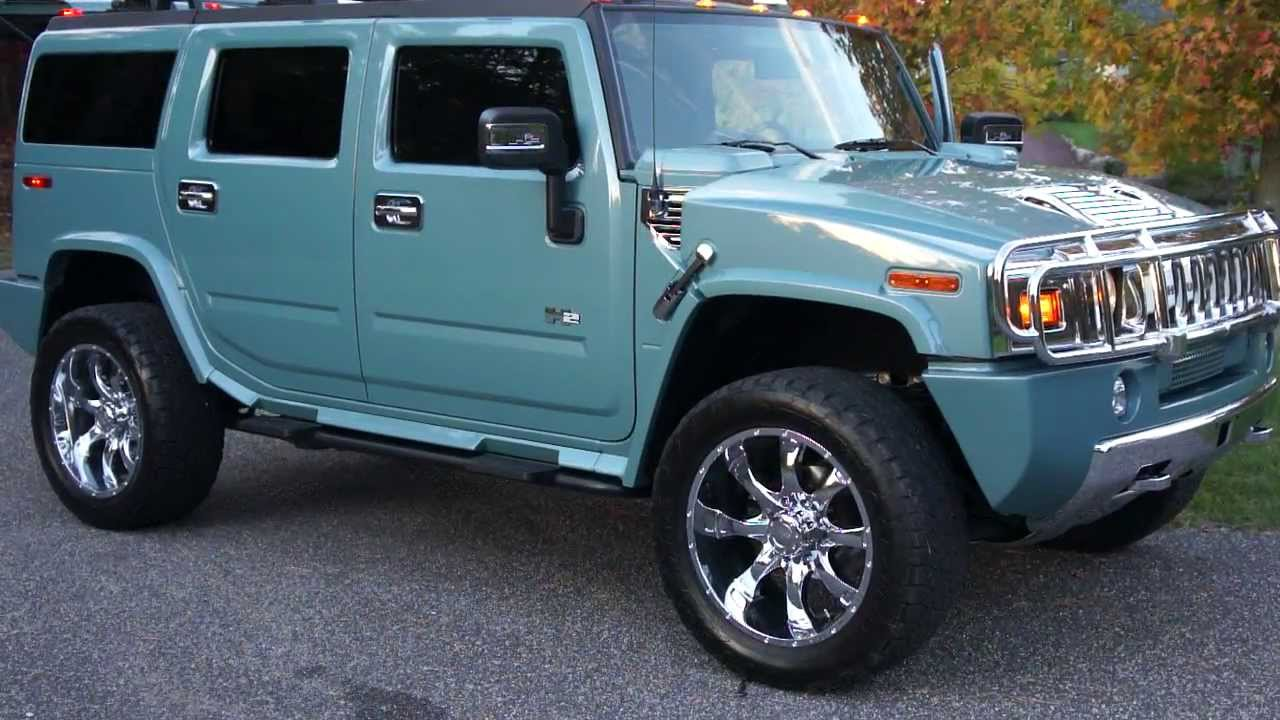 sold 2007 hummer h2 luxury for sale special edition rare glacier