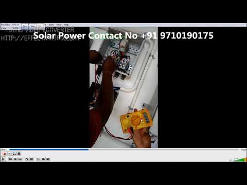How To: Check The DC Supply - Solar Panel?