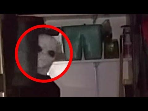 Alien Caught on Tape in Man's Basement !