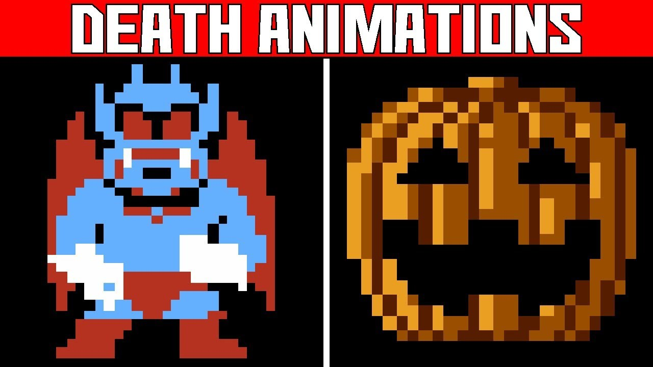 Nes Halloween Video Game Deaths Game Over Screens Part 1 Death Animations Youtube