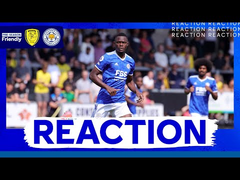'Special To Play In front Of The Fans' - Patson Daka   Burton Albion 0 Leicester City 0