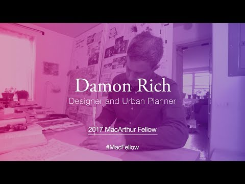 Designer and Urban Planner Damon Rich | 2017 MacArthur Fellow