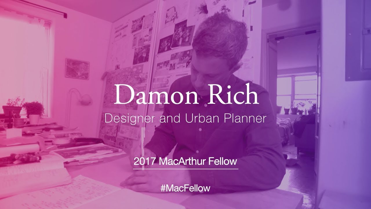 Designer and Urban Planner Damon Rich | 2017 MacArthur Fellow ...