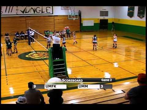 UMFK Women's Volleyball vs. University of Maine at Machias: Game 2 - September 19, 2014