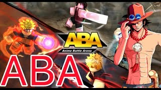 Roblox Anime Battle Arena || Ranked Matches