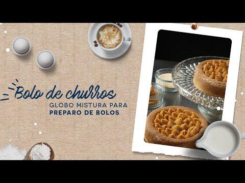Bolo de Churros — Globo Mistura para Preparo de Bolos