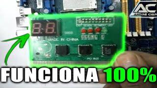 Placa de teste - PC ANALIZER