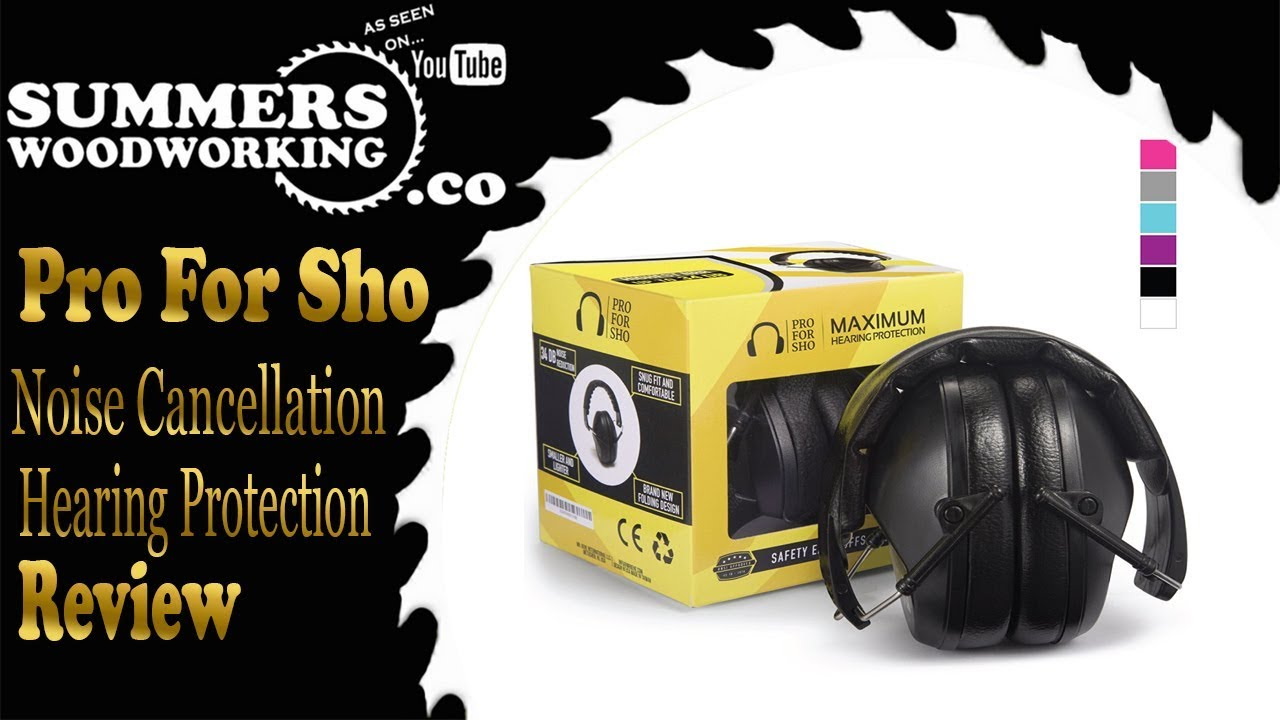 Pro For Sho 34db Shooting Ear Protection Review Youtube